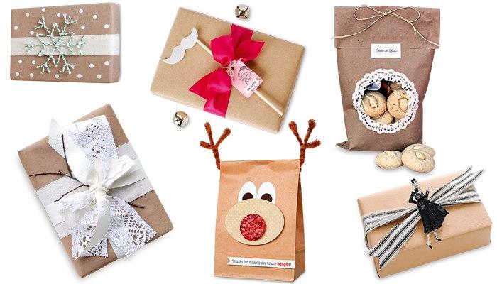 Запаковываем красиво подарки